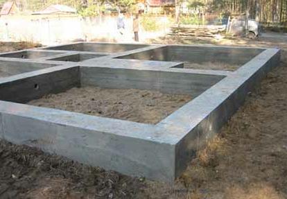 , Конструкції фундаментів