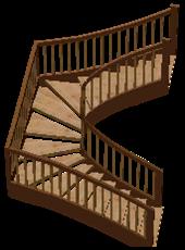 лестницы натуральные деревянные
