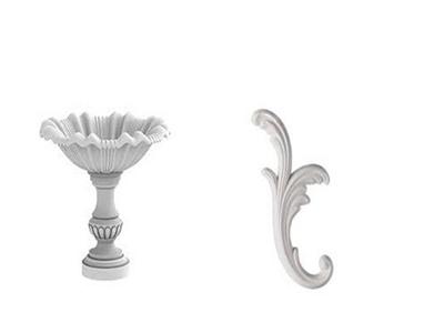 Гипсовая лепнина (декоративные гипсовые элементы) художественно обогатит интерьер и экстерьер
