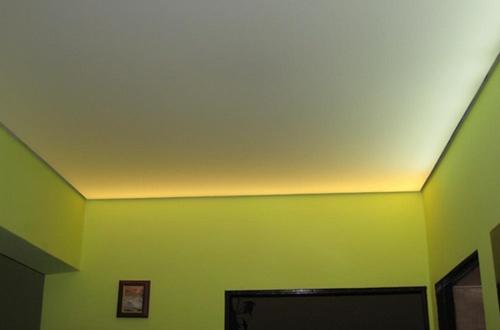 Тканевые натяжные потолки производятся только бесшовными
