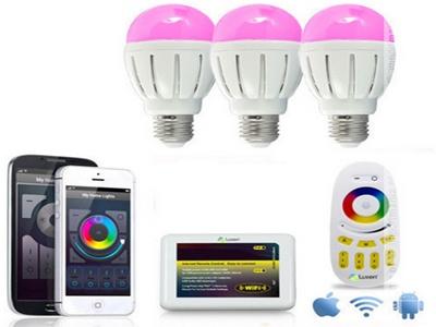 Фото: Система управления освещением умного дома
