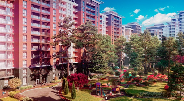 Жилой комплекс в центре Броваров
