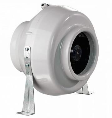 , Круглі канальні вентилятори в пластиком корпусі — загальний опис