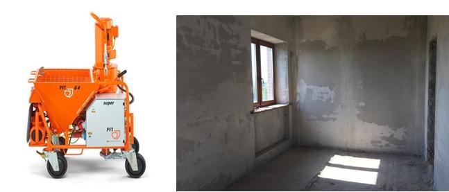, Машинная штукатурка стен в Киеве