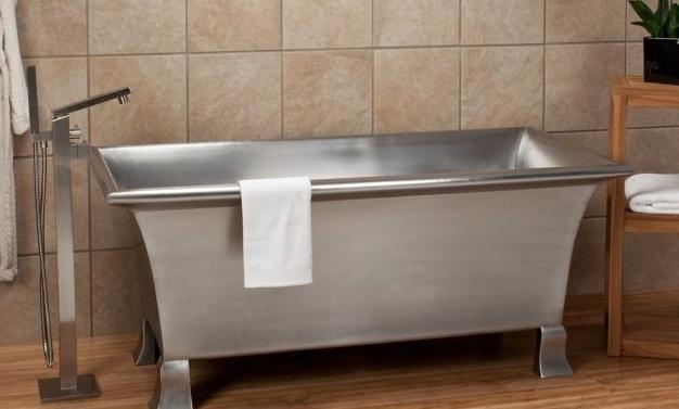 Дизайн ванная нерж