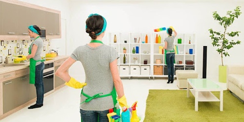 Услуга уборка квартир