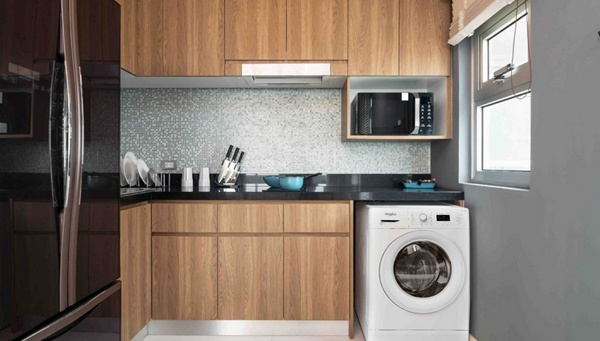Стиралка на кухне
