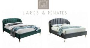 Две кровати Мягкая спинка